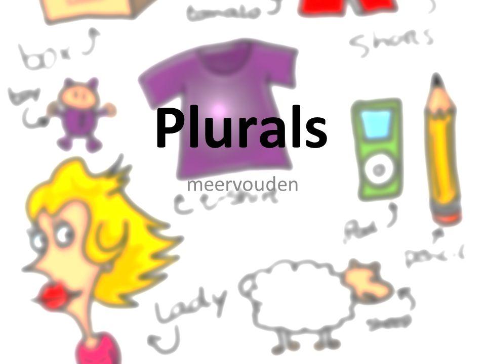 pencil > pencils + s normale gevallen