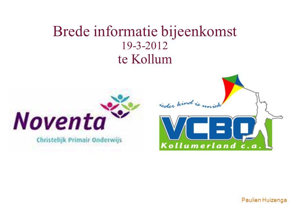 Paulien Huizenga Brede informatie bijeenkomst 19-3-2012 te Kollum