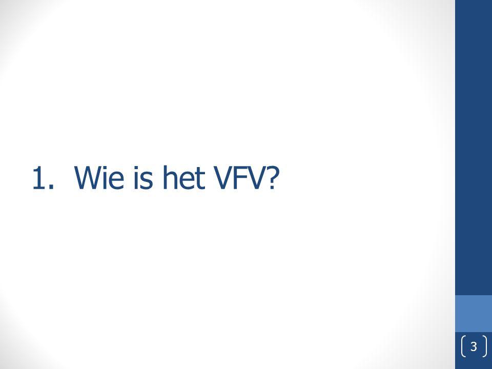 1. Wie is het VFV? 3