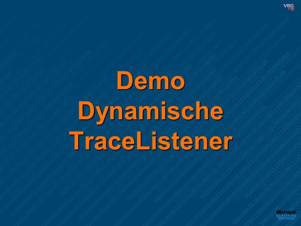 Demo Dynamische TraceListener