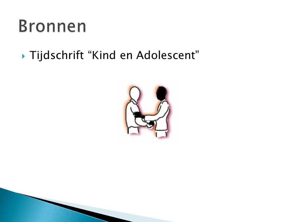 Tijdschrift Kind en Adolescent