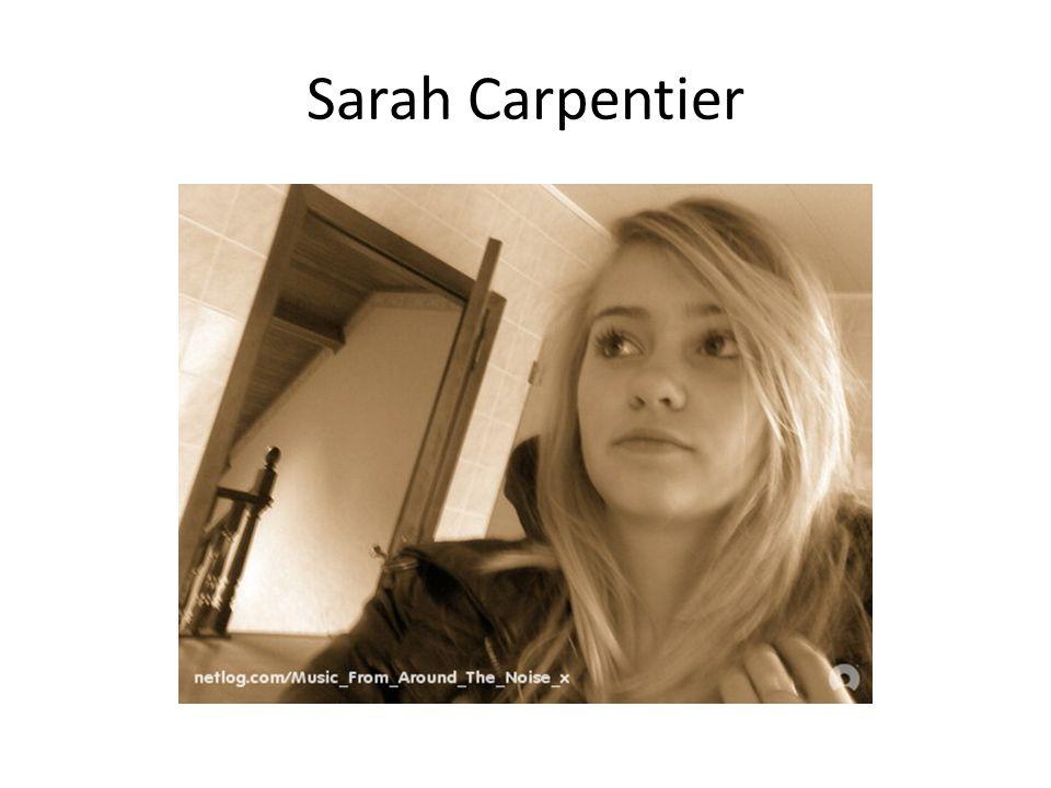 Sarah Carpentier