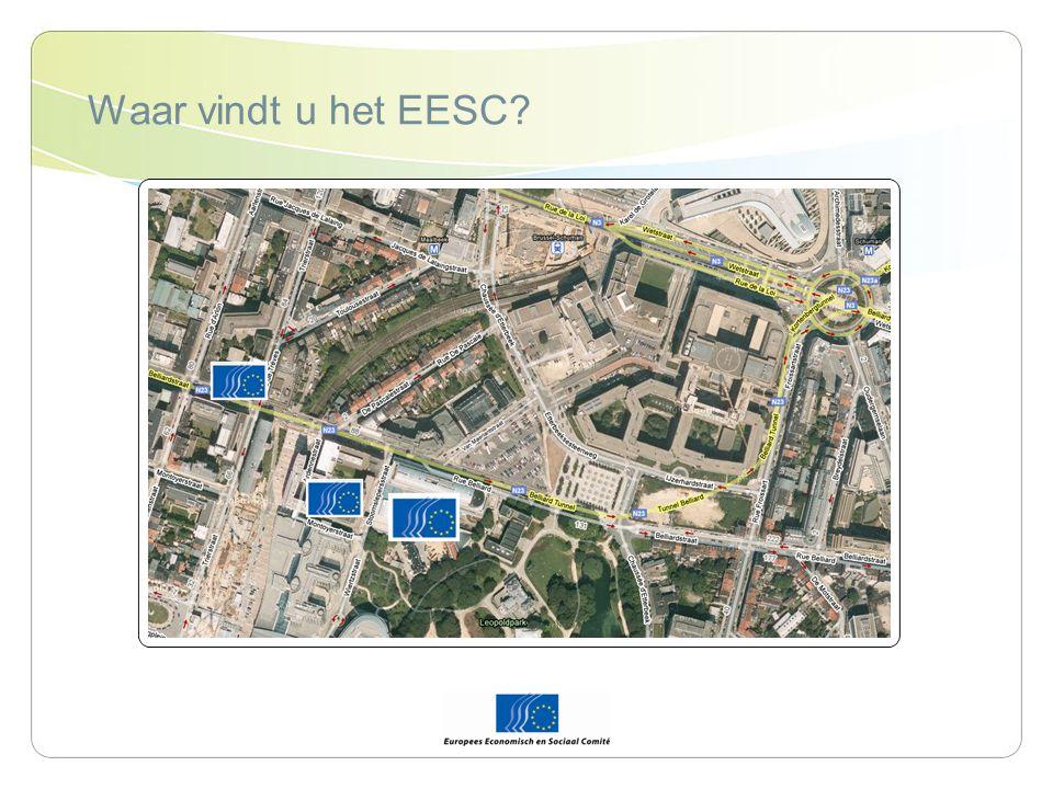 Plaats van het EESC binnen het institutionele bestel Europese Commissie