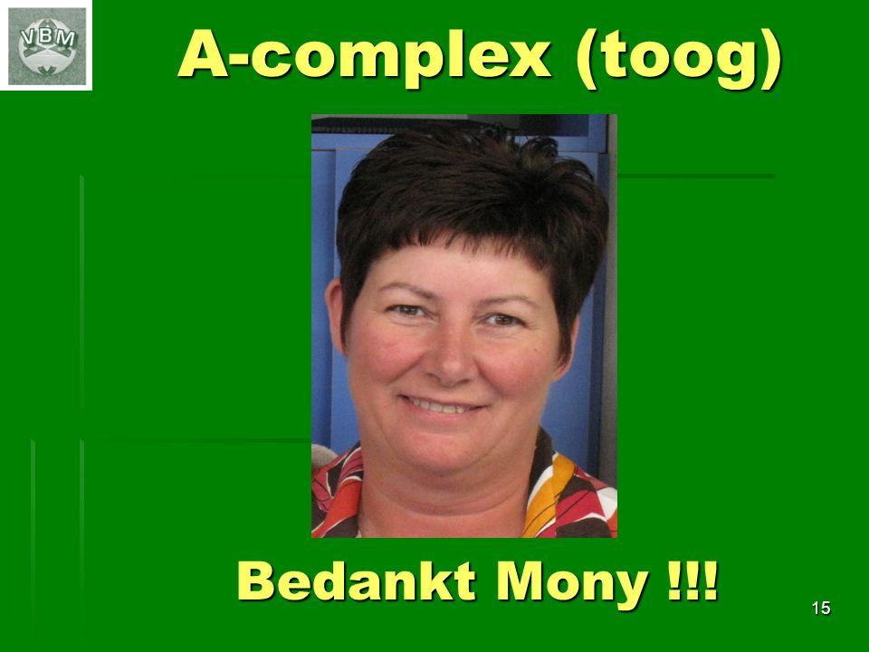 15 A-complex (toog) Bedankt Mony !!!