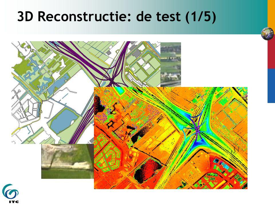 3D Reconstructie: de test (1/5)
