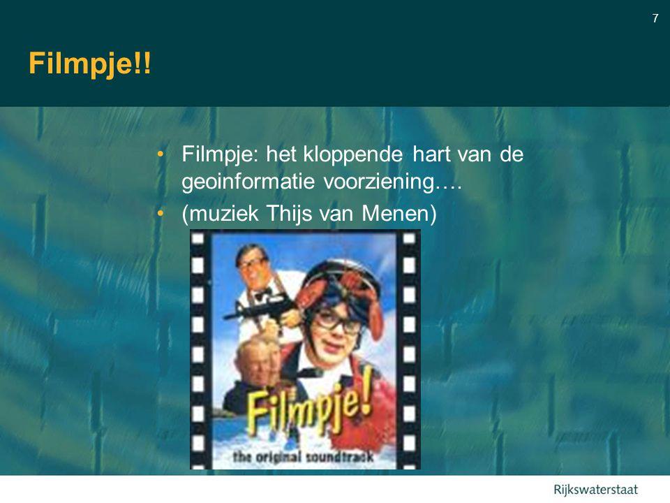 7 Filmpje!! Filmpje: het kloppende hart van de geoinformatie voorziening…. (muziek Thijs van Menen)