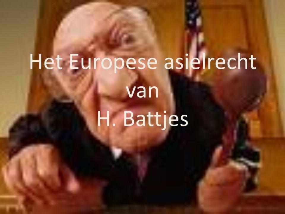 Het Europese asielrecht van H. Battjes
