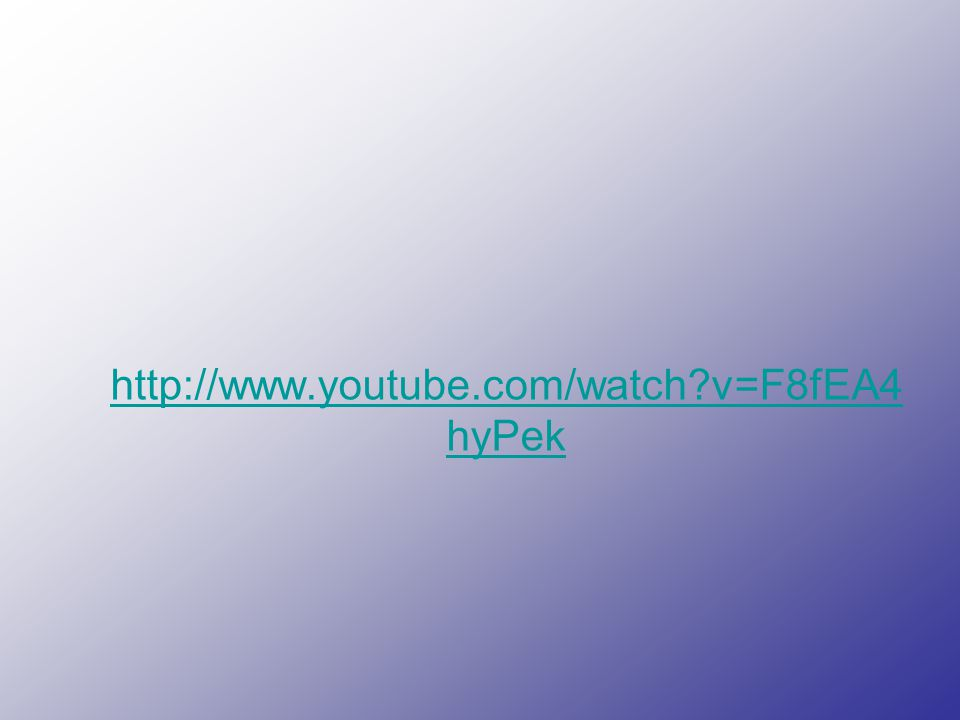 http://www.youtube.com/watch?v=F8fEA4 hyPek http://www.youtube.com/watch?v=F8fEA4 hyPek