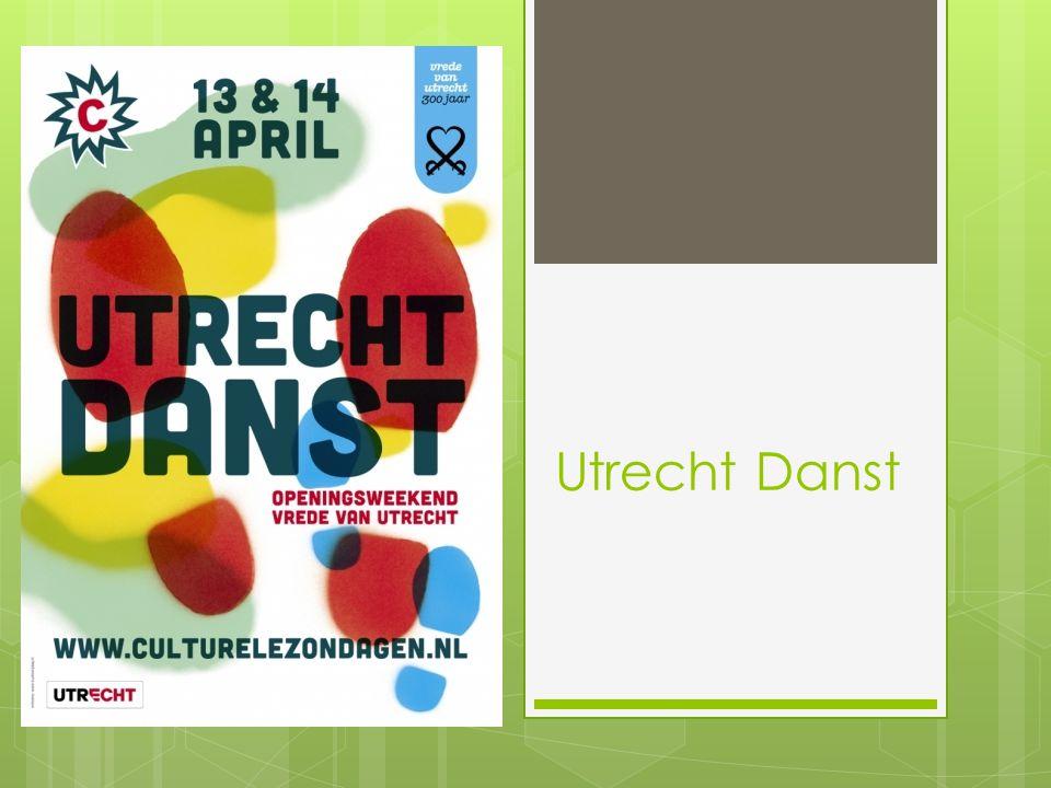 Jaarlijks festival Organisatie door Culturele Zondagen en Vrede van Utrecht 2013 de 4 e editie Meerdere locaties in Utrecht