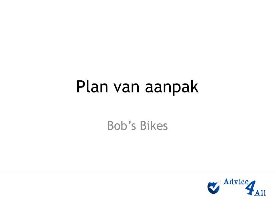 Plan van aanpak Bob's Bikes
