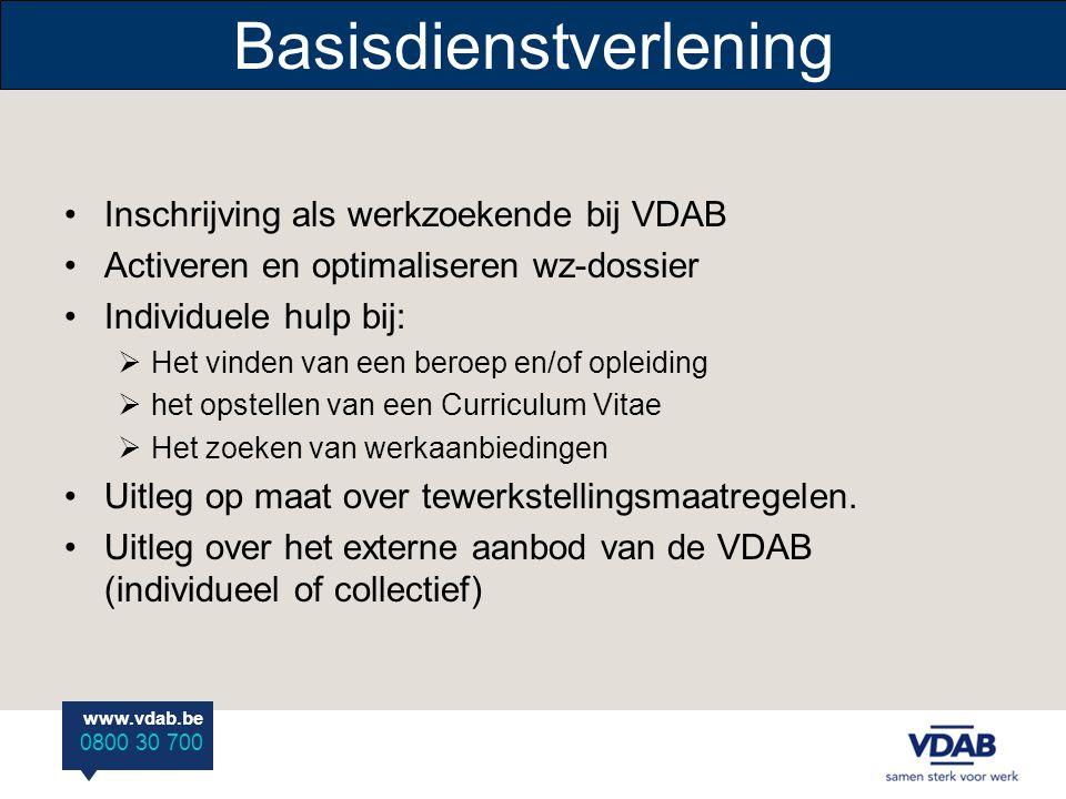 www.vdab.be 0800 30 700 Toelatingsvoorwaarden Gedetineerden die aan het programma deelnemen moeten aan een aantal voorwaarden voldoen :  Zich maximaa