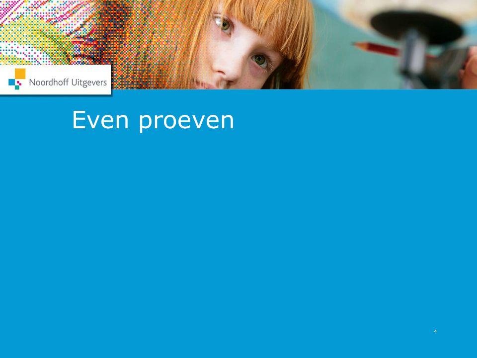 4 Even proeven