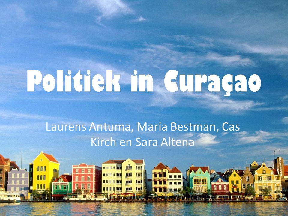 Politiek in Curaçao Laurens Antuma, Maria Bestman, Cas Kirch en Sara Altena