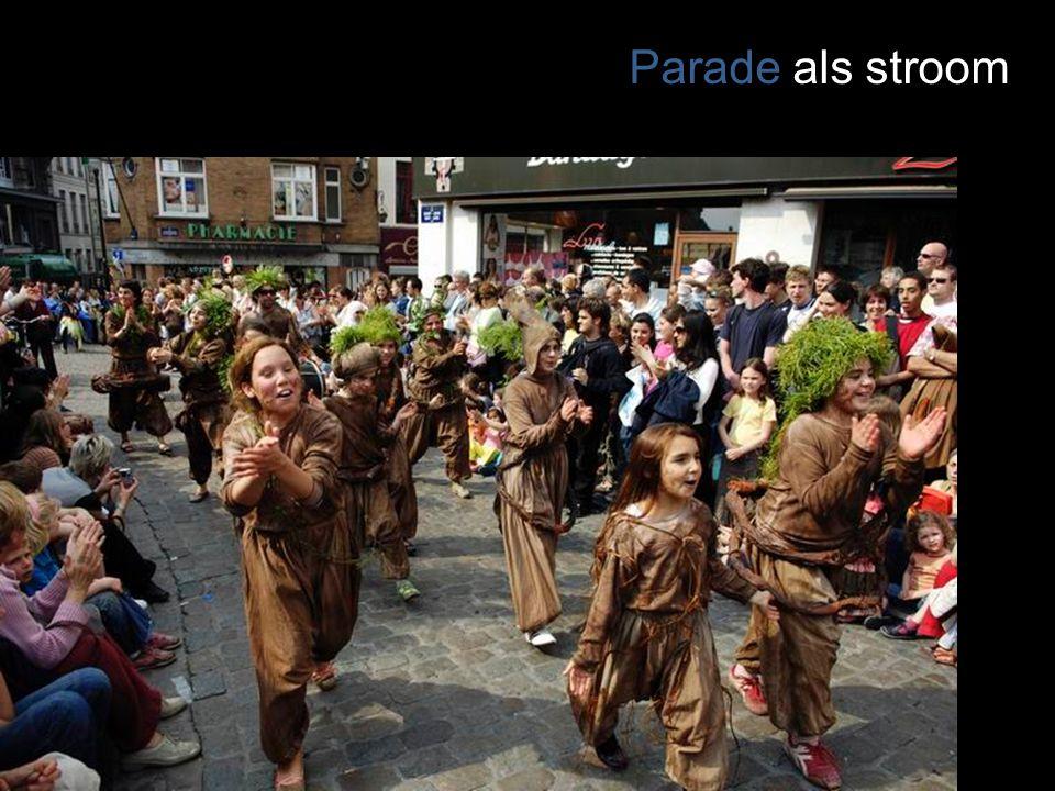 Parade als stroom