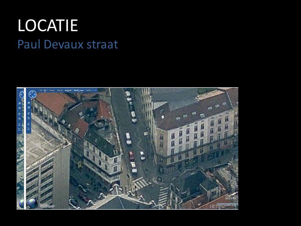 LOCATIE Paul Devaux straat