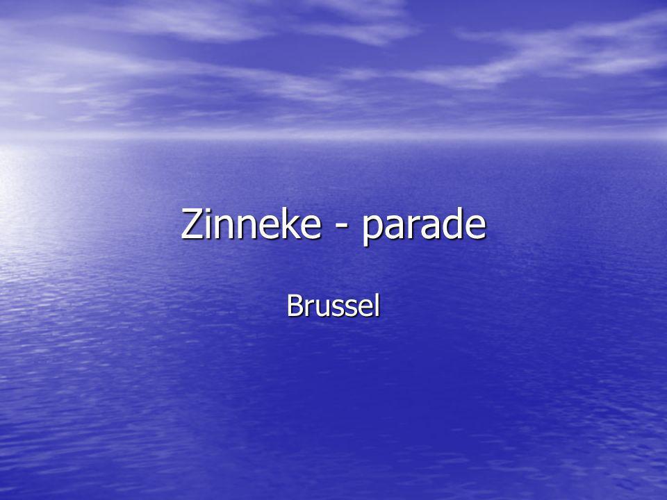 Zinneke - parade Brussel