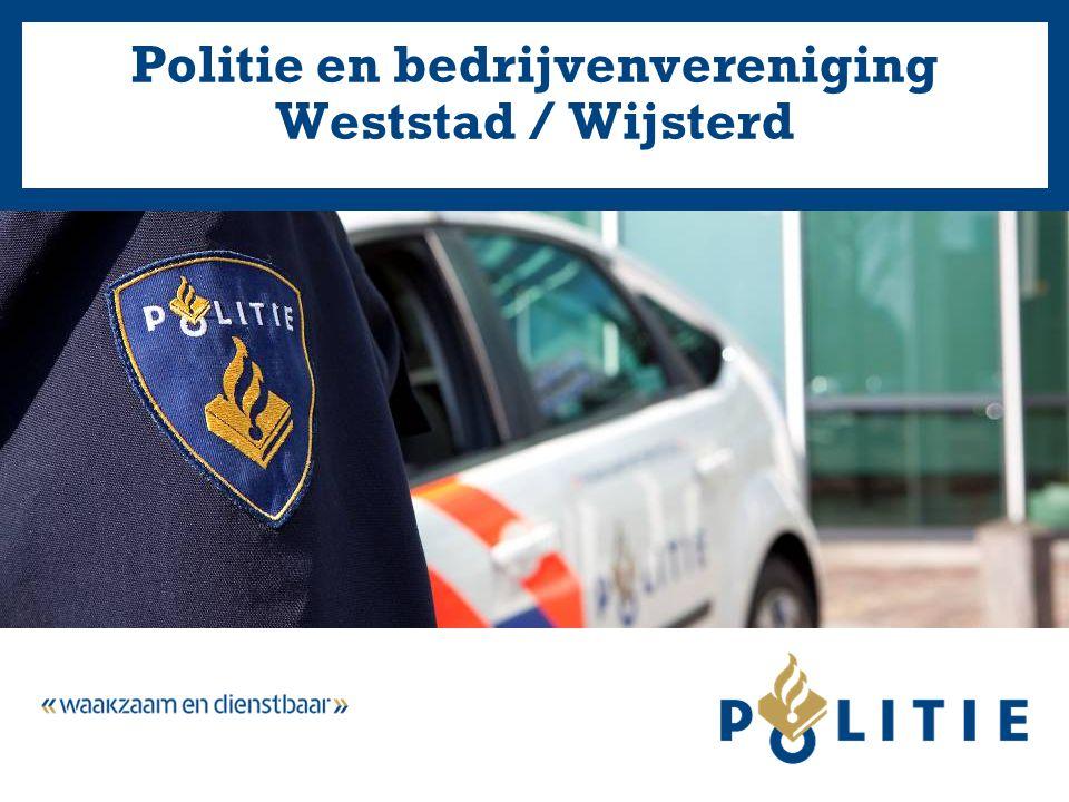 Politie en bedrijvenvereniging Weststad / Wijsterd