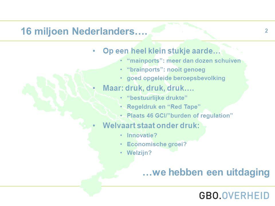 2 16 miljoen Nederlanders….