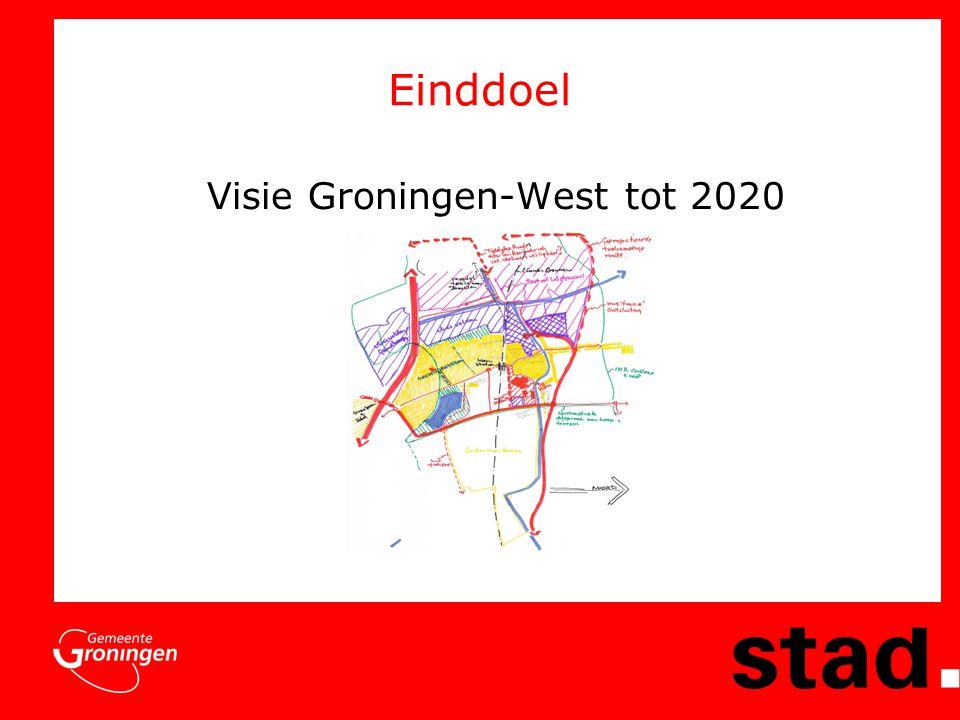 Einddoel Visie Groningen-West tot 2020