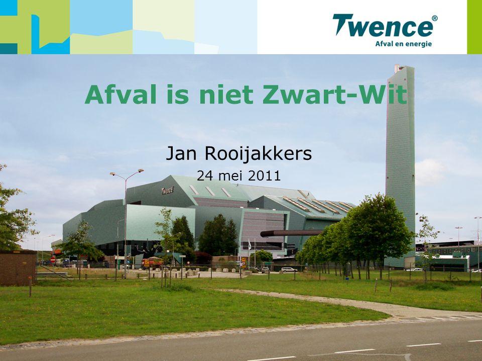 Afvalestafette 24 mei 2011 1 Afval is niet Zwart-Wit Jan Rooijakkers 24 mei 2011