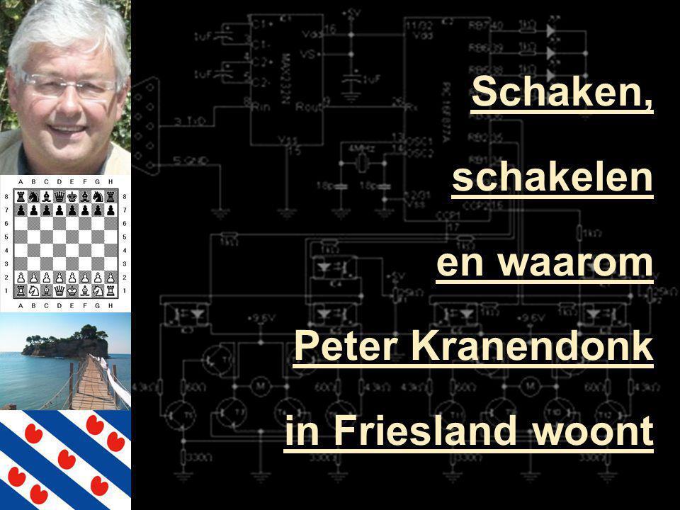 Schaken, schakelen en waarom Peter Kranendonk in Friesland woont