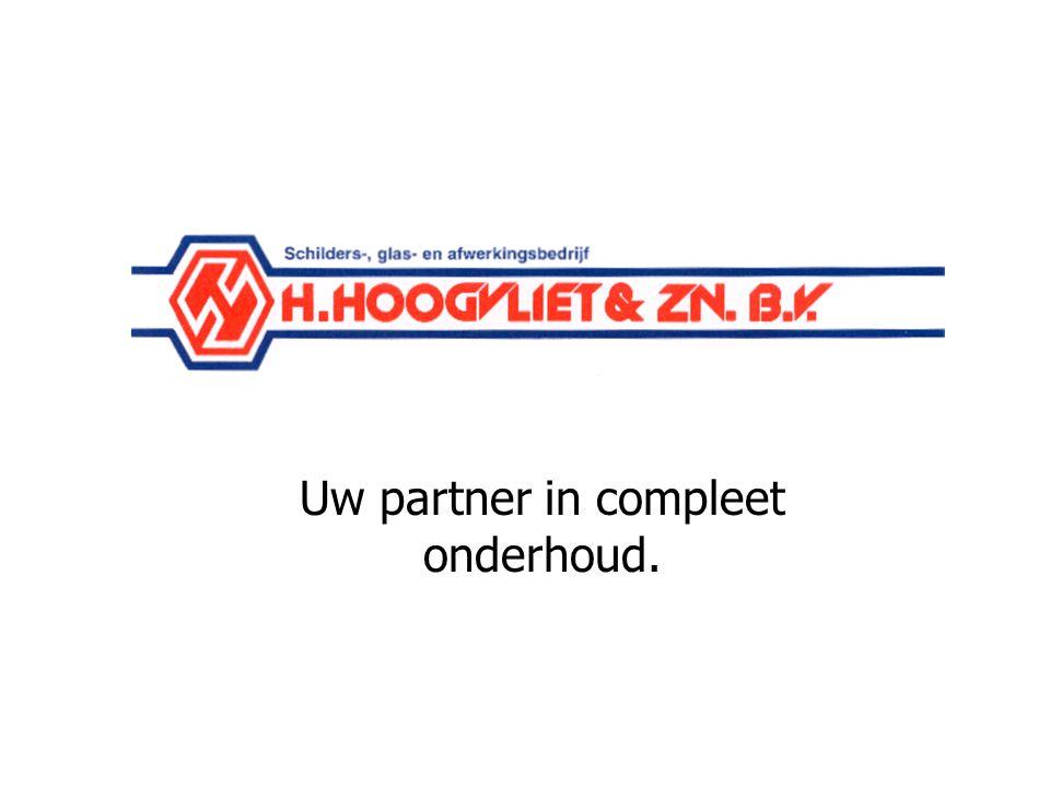 Schildersbedrijf Hoogvliet Wageningen Uw partner in compleet onderhoud.