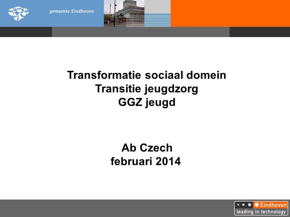 Ab Czech februari 2014 Transformatie sociaal domein Transitie jeugdzorg GGZ jeugd