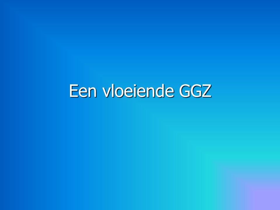 De huidige keten GGZ