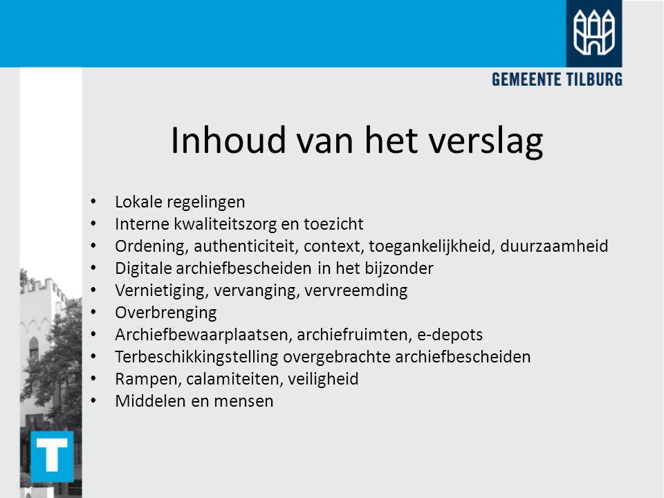 KPI 1 Lokale regelgeving Wet- en regelgeving.