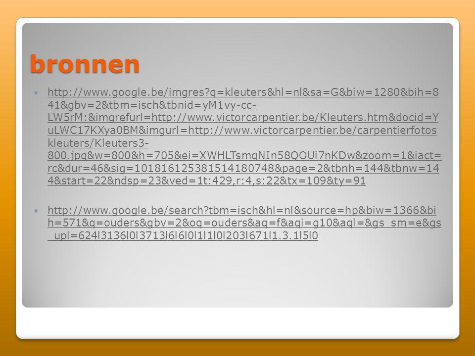 bronnen http://www.google.be/imgres?q=kleuters&hl=nl&sa=G&biw=1280&bih=8 41&gbv=2&tbm=isch&tbnid=yM1vy-cc- LW5rM:&imgrefurl=http://www.victorcarpentie