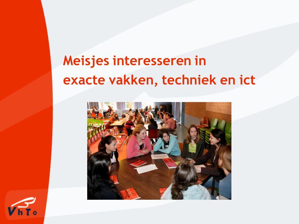 Scholen ondersteunen om meisjes enthousiast te maken voor exacte vakken, techniek en ict