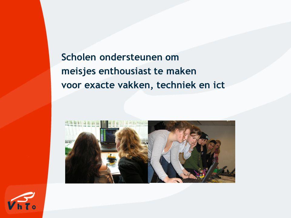 Meidenwijzer Onderwijs- vernieuwing Beroeps- oriëntatie Keuze- begeleiding Netwerken Organisatie