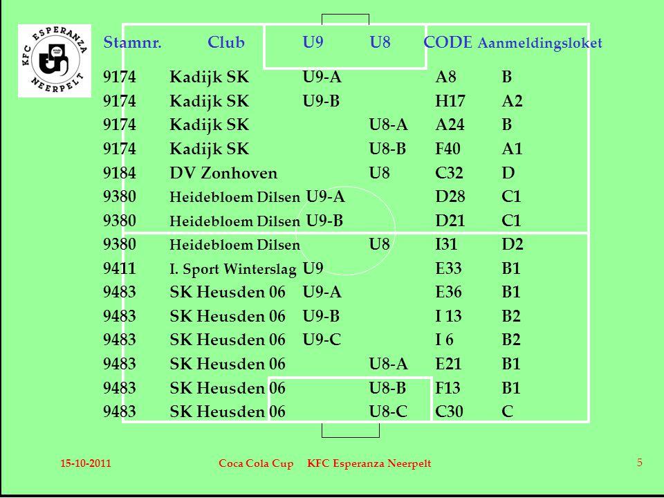 15-10-2011Coca Cola Cup KFC Esperanza Neerpelt 16