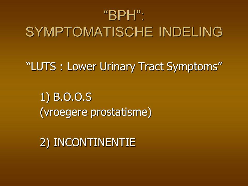 Effecten α-blokkade Verbetering van de urineflow Verbetering van de urineflow Uroflowmetrisch onderzoek laat zien dat er enkele uren na inname reeds een flowverbetering optreedt.
