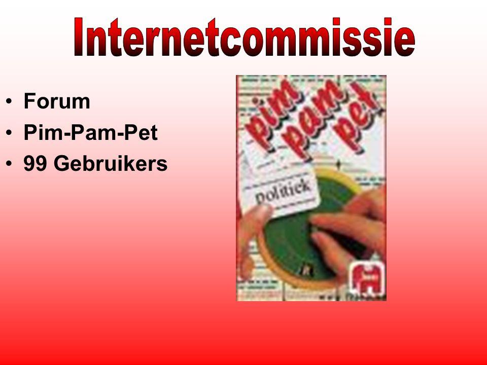 Forum Pim-Pam-Pet 99 Gebruikers