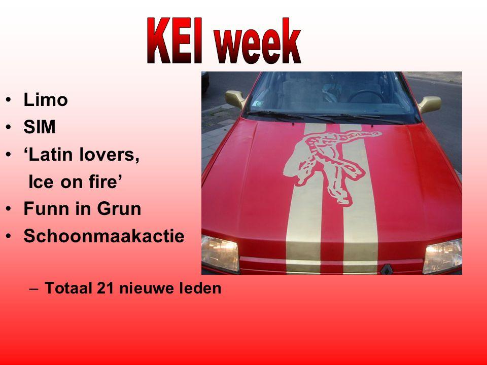 2e en 4e woensdag Vlag op brug BBQ Sportief: –BOMmen –Baanwielrennen –Spinning –Volleybal Thema borrel 'Hot in the Jungle'