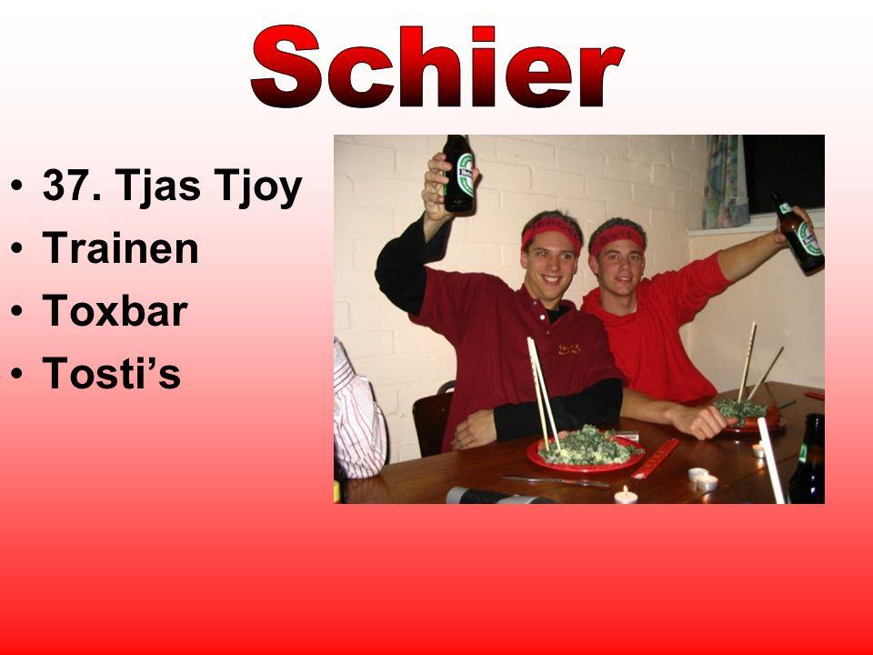 37. Tjas Tjoy Trainen Toxbar Tosti's
