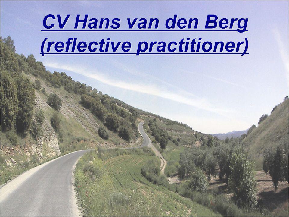 CV Hans van den Berg (reflective practitioner)