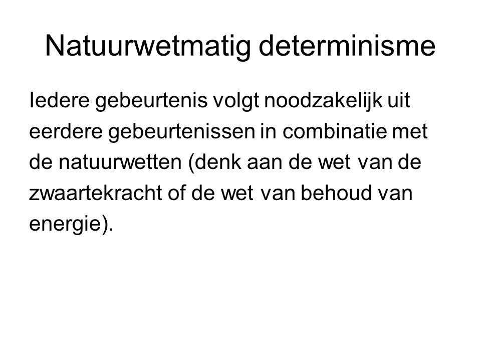 Kuklinski en PAP Principe van alternatieve mogelijkheden: handelen uit vrije wil vereist dat je ook iets anders had kunnen doen.