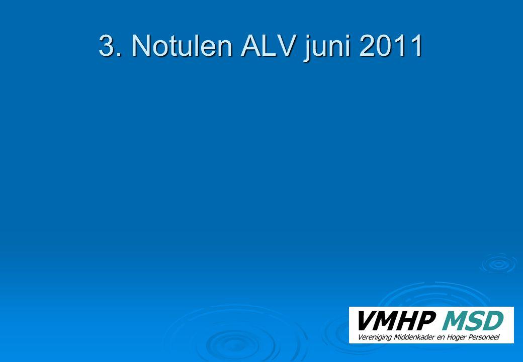 3. Notulen ALV juni 2011