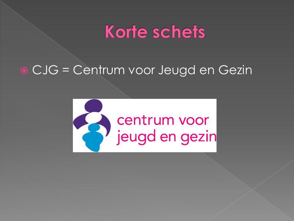 CJG = Centrum voor Jeugd en Gezin