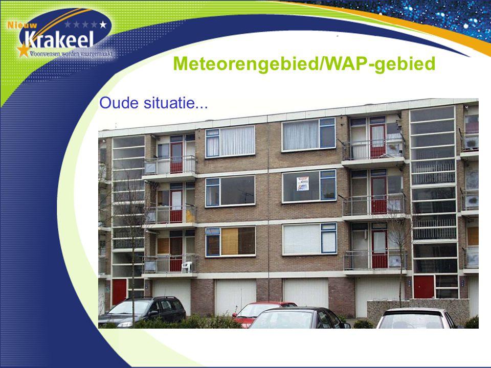 Meteorengebied/WAP-gebied Oude situatie...