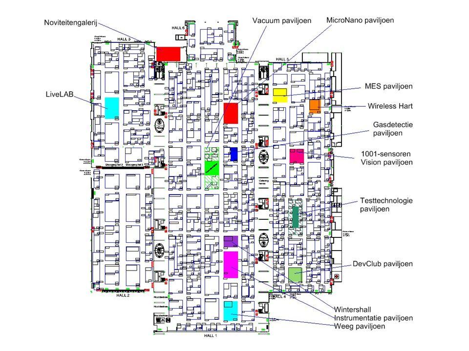 Aantal m² per exposant 20082010 36,4 m²34 m²