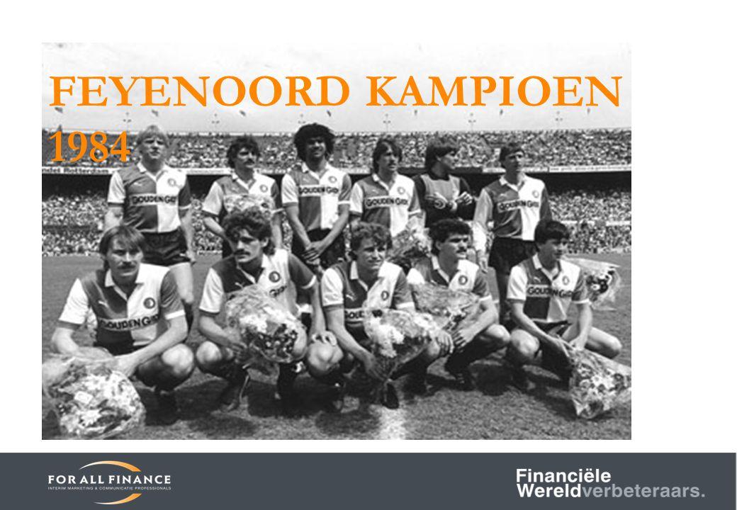 FEYENOORD KAMPIOEN 1984