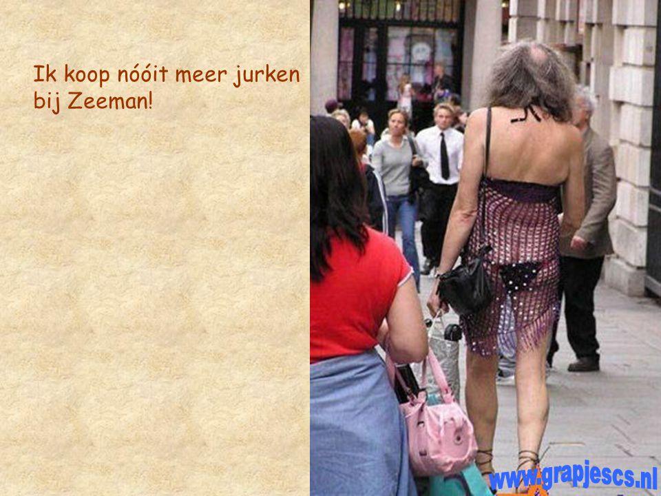 Ik koop nóóit meer jurken bij Zeeman!