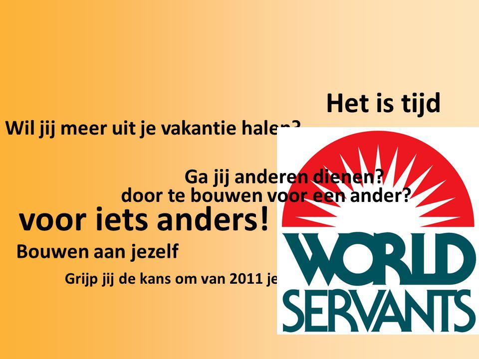World Servants VELSEN Zondag 5 September 19.30 uur Het Kruispunt Zie posters www.worldservantsvelsen.nl info@worldservantsvelsen.nl 06 47836777 Meer informatie: