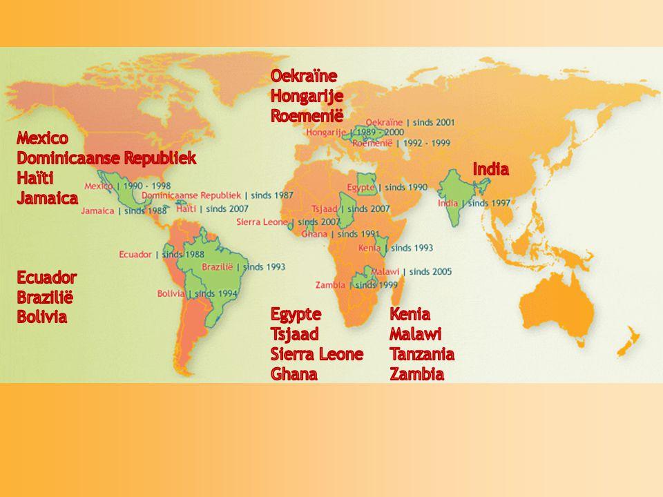 World Servants 3 weken met 20 – 40 jongeren bouwen in