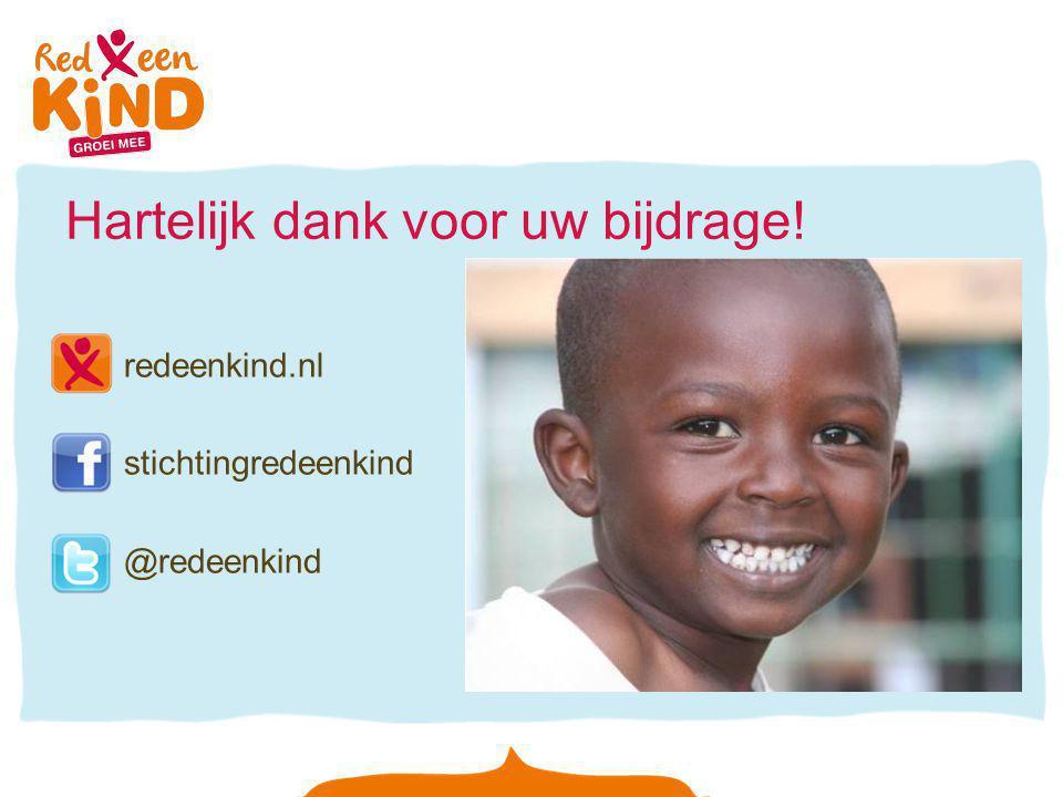 Hartelijk dank voor uw bijdrage! redeenkind.nl stichtingredeenkind @redeenkind