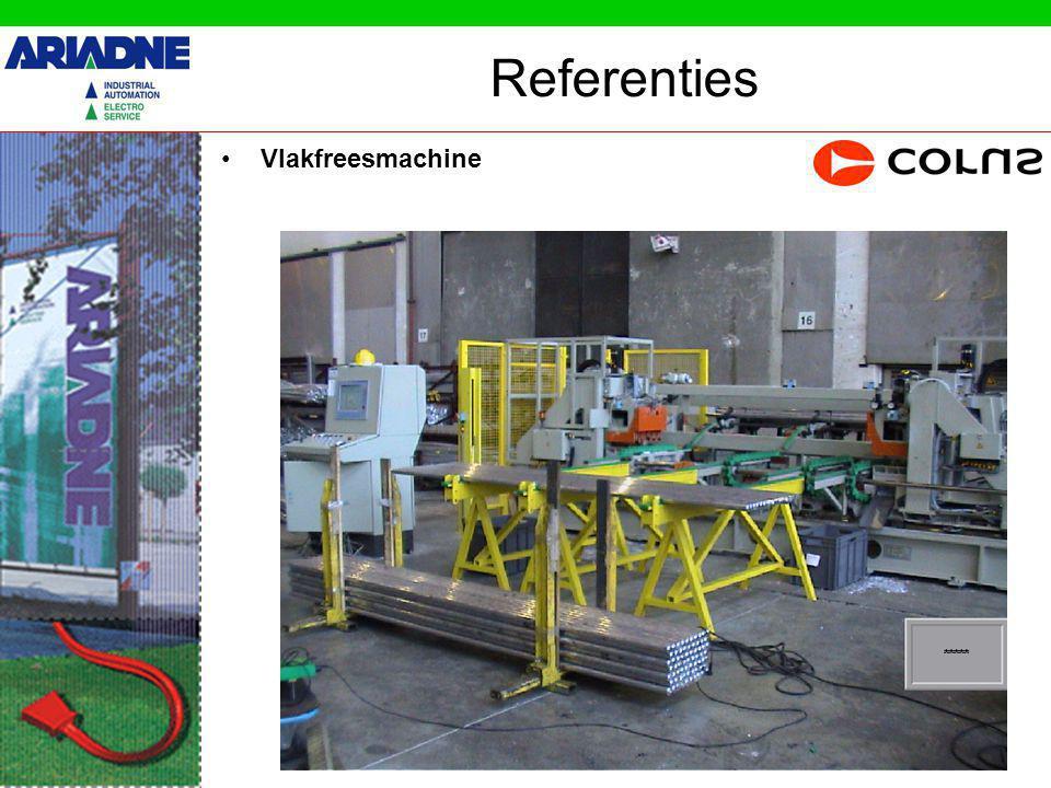 Referenties Vlakfreesmachine Beweegbare Freeskop