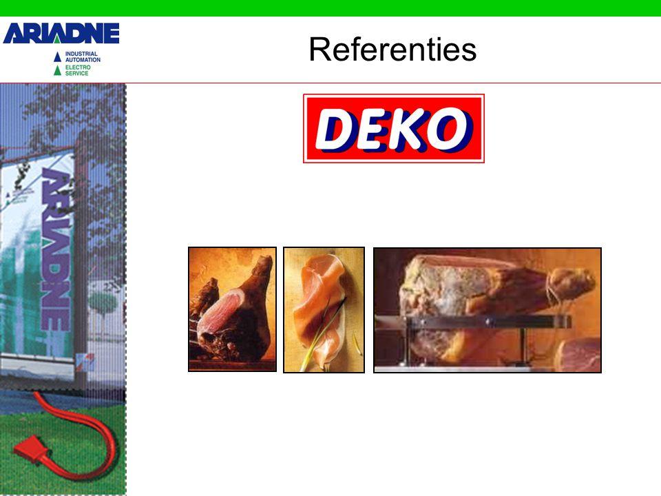 Registreren en regelen van temperaturen koelcellen Referenties – Opbouw Rapport Access dBase PC Grafieken PT100 Omron CS1 Plc Set points ventielen